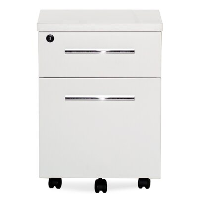 Jesper Office Pure Office 2 Drawer Mobile Pedestal