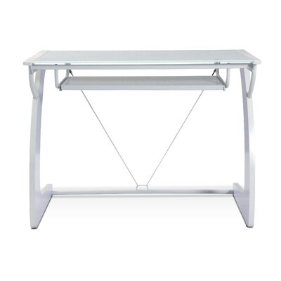 Jesper Office Tribeca Writing Desk with Keyboard Tray