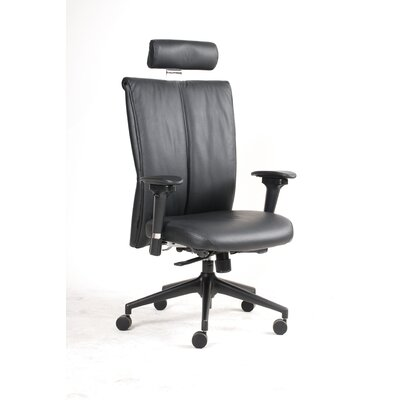 Jesper Office Leather High-Back Executive Chair