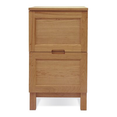 Jesper Office Woodland Narrow File Cabinet