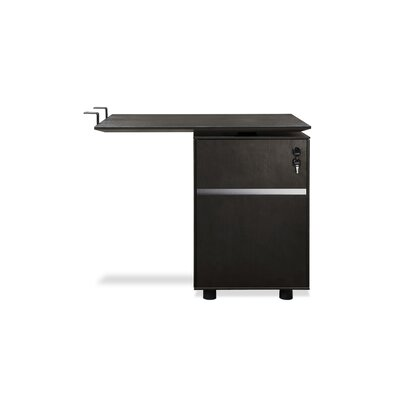 Jesper Office Jesper Office 300 Series Return Desk with File Cabinet