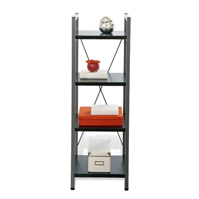 Jesper Office Tribeca 214-ESP Narrow Bookcase with Four Shelves