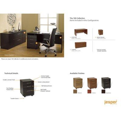 Jesper Office 100 Standard Desk Office Suite