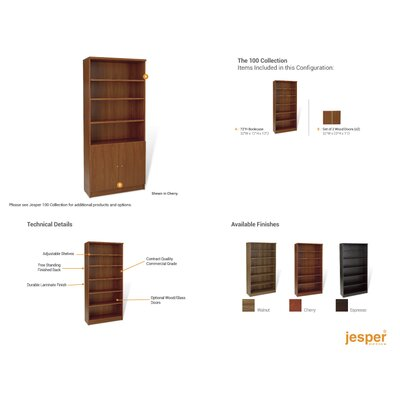Jesper Office Pro X - Bookcase with Storage