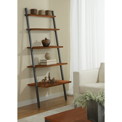 Jesper Office Parson 5 Tier Ladder Bookcase