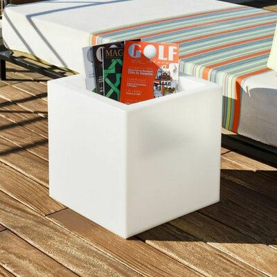Paso Luminous Square Pot Planter