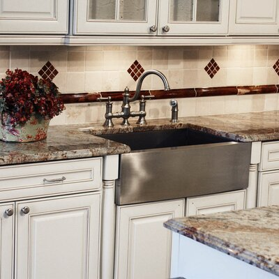 "Nantucket Sinks 28"" x 18"" Undermount Pro Series Single Bowl Kitchen Sink"