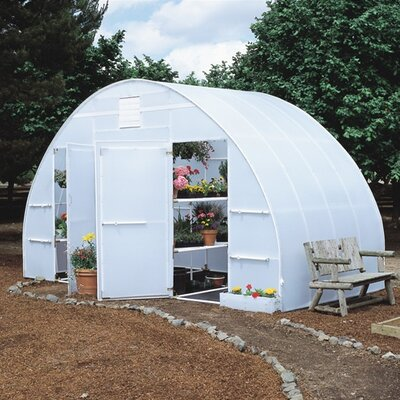Solexx Conservatory 8 Foot Polyethylene Greenhouse