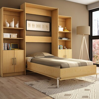 Milo Twin Storage Wall Bed Wayfair
