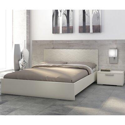 Stellar Home Furniture Sienna Waves Platform Bedroom Collection