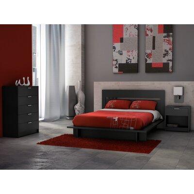 Stellar Home Furniture Milan 1 Drawer Nightstand