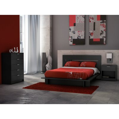 Stellar Home Furniture Milan Queen Platform Bed