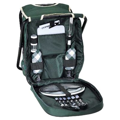 Spectator Picnic Backpack in Green