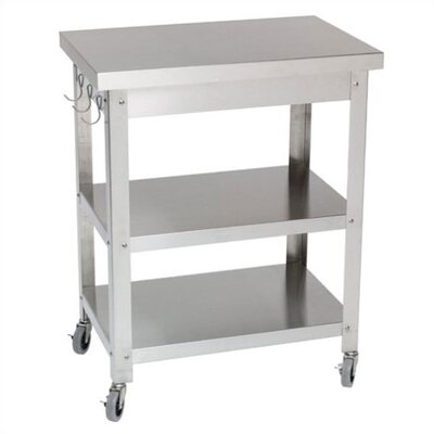 <strong>Danver</strong> Stainless Steel Kitchen Cart