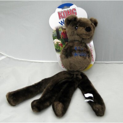 KONG Grey Wubba Friend Dog Toy
