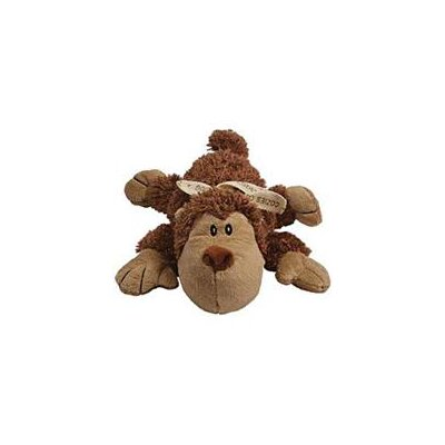 KONG Cozie Spunky Dog Toy - Monkey