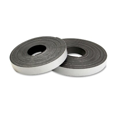 "Baumgartens Magnetic Tape, Refill, 15'x1/2"", Black"