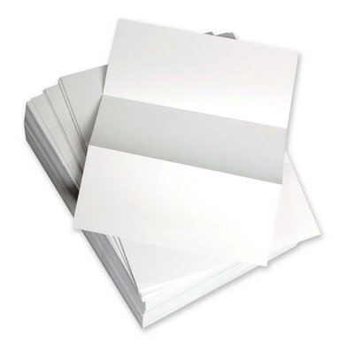"Domtar Custom Cut Sheets, Microperf Every 3-2/3"", 5 RM/CT, White"