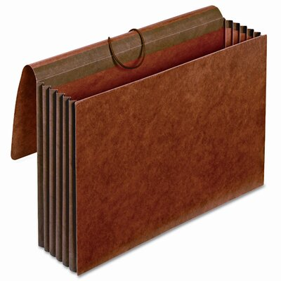 """Cardinal Brands, Inc Globe-Weis 5.25"""" Expansion Accordion Wallets, Straight, Redrope, Legal"""