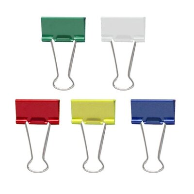 Officemate International Corp Medium Binder Clips, 24/Pack