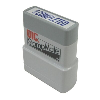 Officemate International Corp Pre-Ink Stamper, Complete