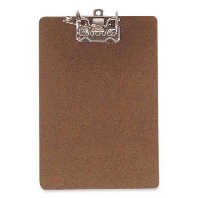 "Officemate International Corp Archboard, Letter, 9""x15-1/2"", Brown"