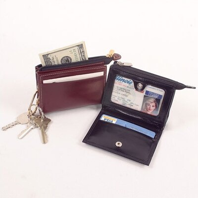"Winn International High Polished Cowhide Aniline ""Kabul"" Leather ID Holder"