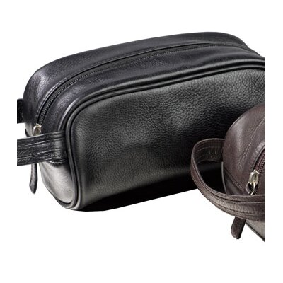 Winn International Mini Leather Toiletry Kit
