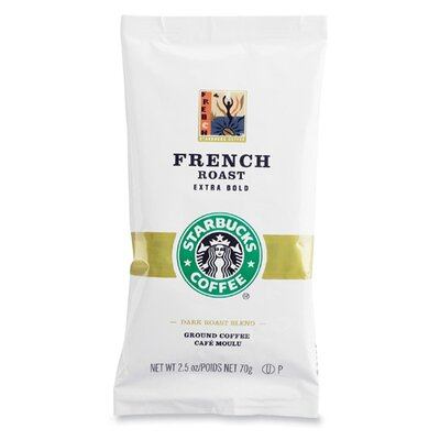 Starbucks Coffee French Roast, 18 Bags/Box