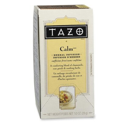 Starbucks Coffee Tazo Tea, Calm Blend, Herbal, 24 per Box