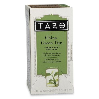 Starbucks Coffee Tazo China Green Tips Tea, 24 per Box