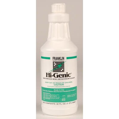 Franklin Cleaning Technology Hi-Genic Non-Acid Bowl and Bathroom Cleaner