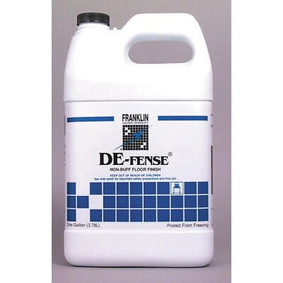 Franklin Cleaning Technology De-fense Non-Buff Floor Finish Bottle