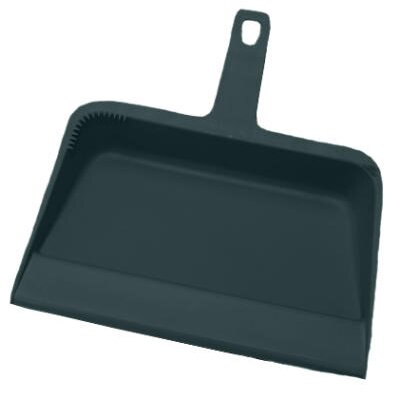 Impact Value-Plus Dustpan Polypropylene in Black