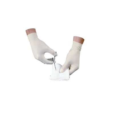 Impact Disposable Latex Large Powder Free Exam Gloves Non-Sterile