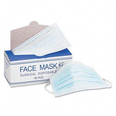 Impact Face Mask, Elastic Ear Loop, 50 Face Masks/Box
