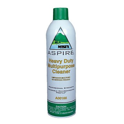 Misty Aspire Heavy-Duty Multipurpose Cleaner Lemon Scent Aerosol Can