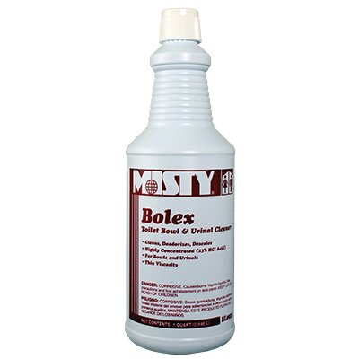 Misty Bolex 23 Percent Hydrochloric Acid Bowl Cleaner Wintergreen Bottle