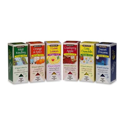 Bigelow Tea Company Assorted Tea Packs, 168/Carton