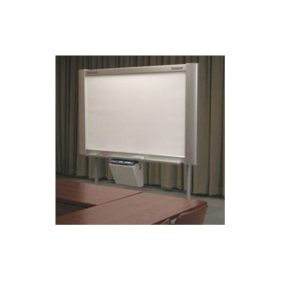 Panasonic® 4-Panel Electronic White Board with Projector Panel and Integrated Plain Paper Printer