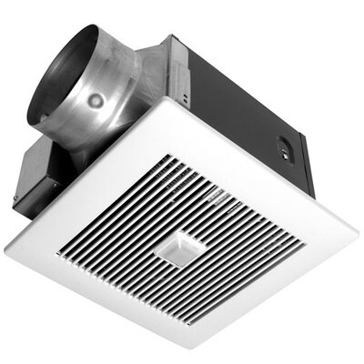 Panasonic® WhisperGreen 130 CFM Energy Star Bathroom Fan with Smart Action Motion Sensor