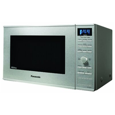 Panasonic® 1.2 Cu. Ft. 1200 Watt Stainless Steel Microwave