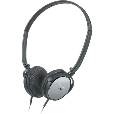 Panasonic® Lightweight On Ear Noise Canceling Headphones