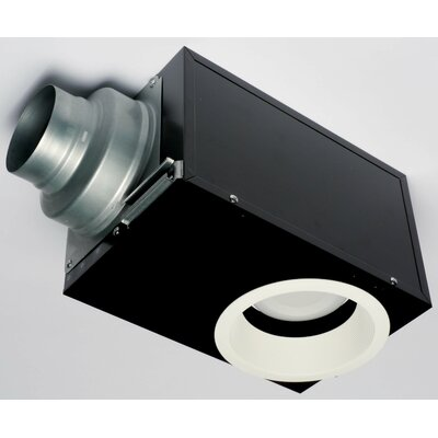 WhisperRecessed 80 CFM Energy Star Bathroom Fan with Light