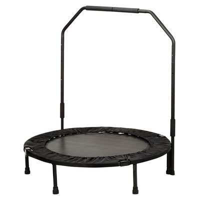 "<strong>Sunny Health & Fitness</strong> 40"" Foldable Trampoline with Stabilizing Bar"