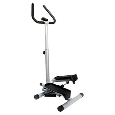 <strong>Sunny Health & Fitness</strong> Twist Mini Stepper w/ Handle Bar