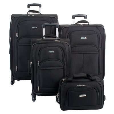 Delsey Illusion Spinner 4 Piece Luggage Set