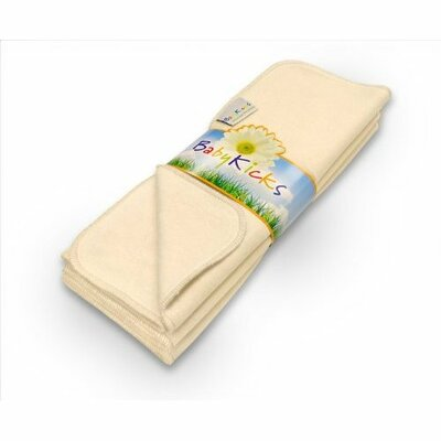 Babykicks Ivory Premium Burp Cloth (Pack of 3)