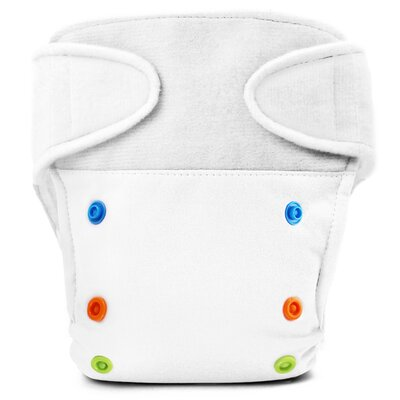 Babykicks Basic One Size Hook and Loop Closure Cloth Diaper