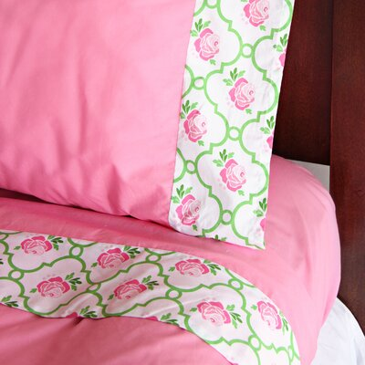 Caden Lane Ikat Girl Sheet Set